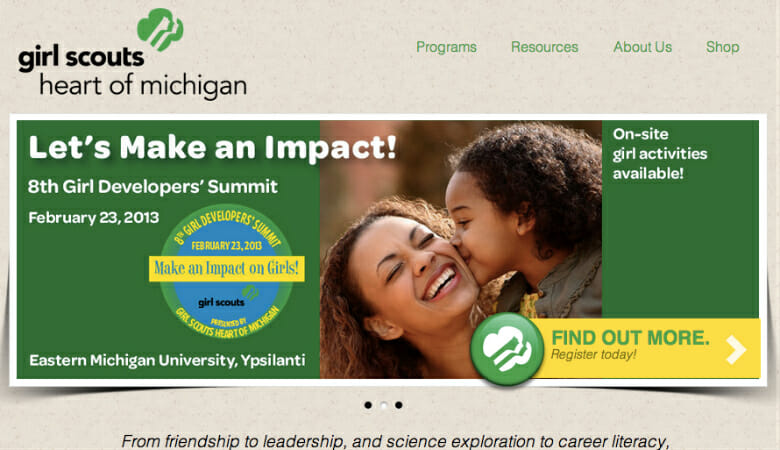 Interview with Girl Scouts Heart of Michigan: Making Nonprofit Website Grants Work for You
