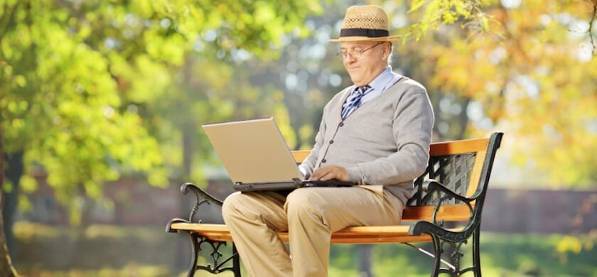 Targeting Older Donors: They're on the Web More Than You Think