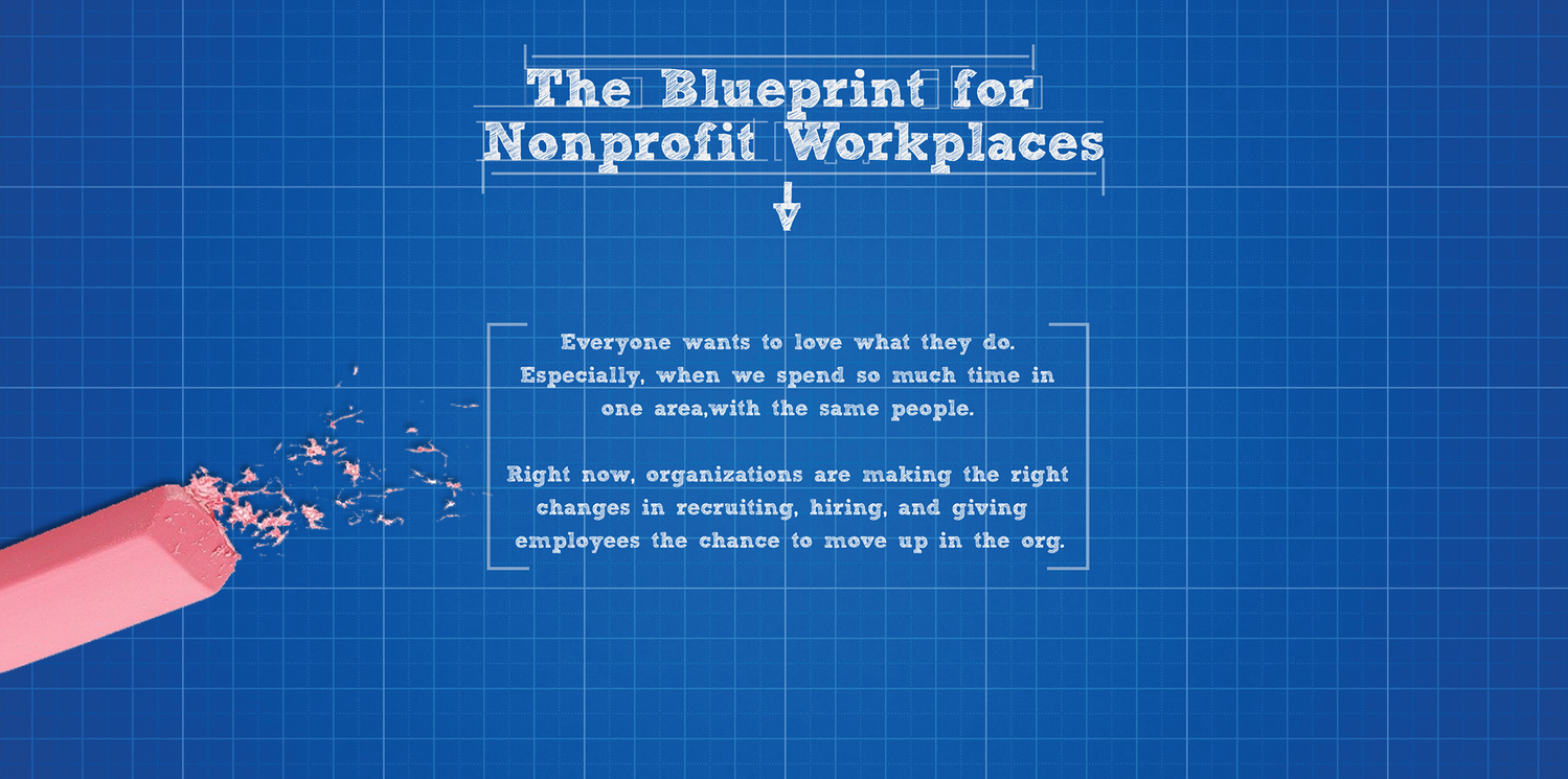The Blueprint for Nonprofit Workplaces [INFOGRAPHIC]