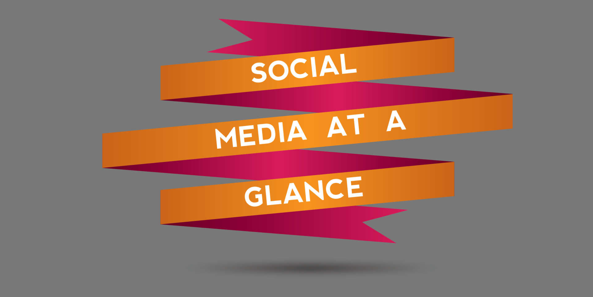 Social Media at a Glance: October Edition
