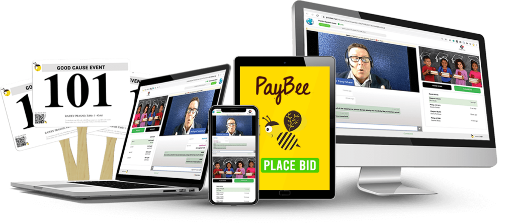 Get hybrid fundraising help with Paybee
