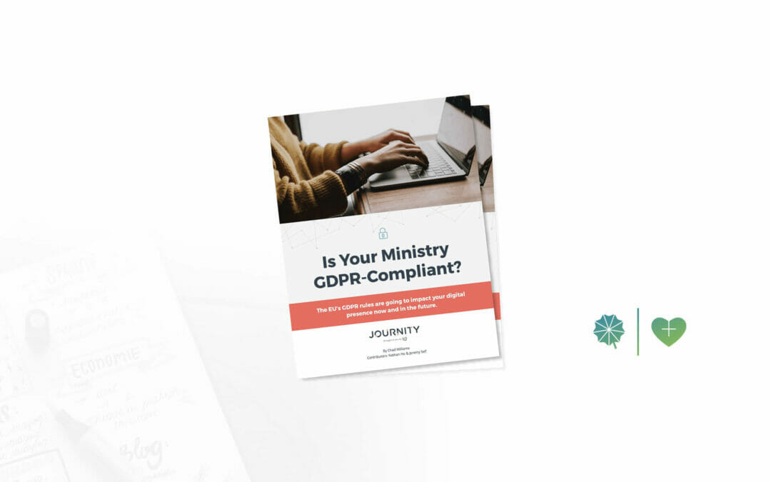 Is Your Ministry GDPR-Compliant?