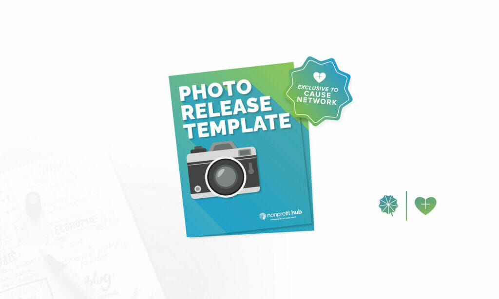 Cover of photo release template
